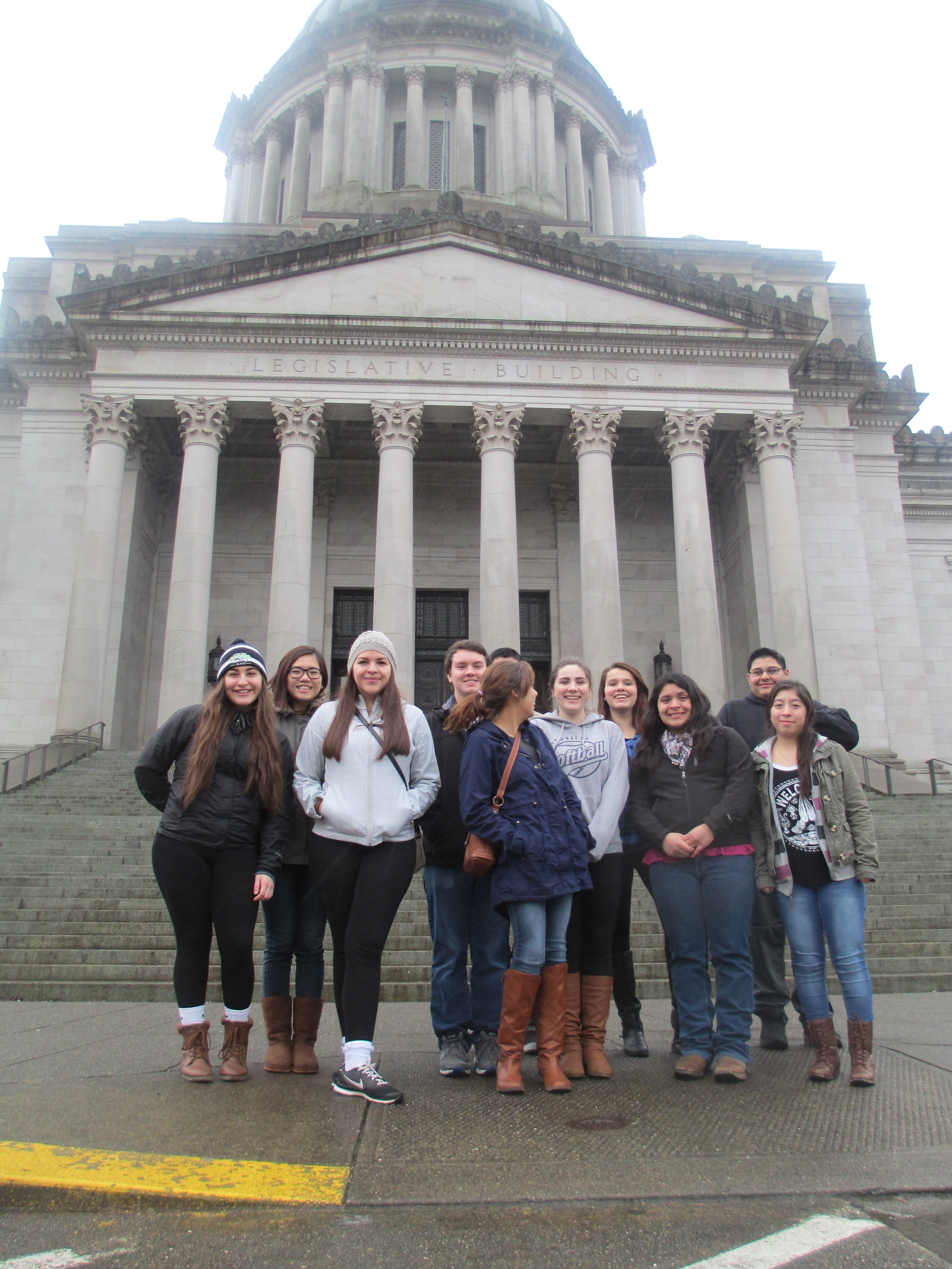 Students visit state capitol
